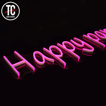 Advertising display acrylic neon signs