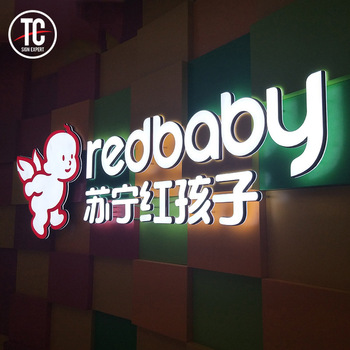 Indoor Custom Led Sign Lights 3D Letters Acrylic Channel Letter alphabet letter with light