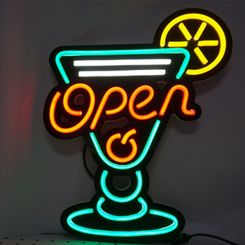 Wholesale Bar Waterproof Led Neon Open Close Signs For Business