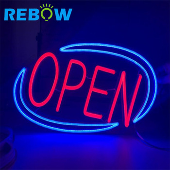 Neon Sign OPEN, led open closed sign 24 hour outdoor led open sign,OPEN led neon sign custom