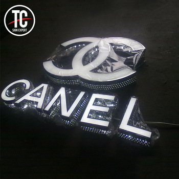 Customized new style outdoor sign 3d letters