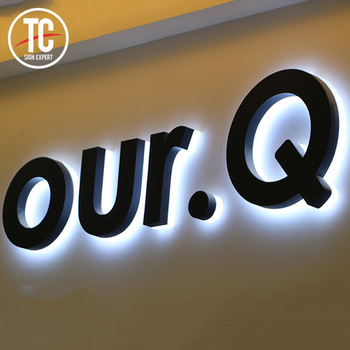 Outdoor use business changeable letter signs
