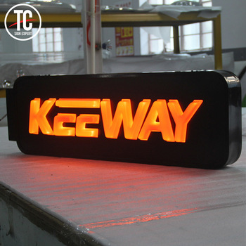 Cheap price Acrylic board light box outdoor advertising led sign board