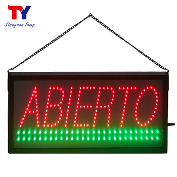 New style design led sign Outdoor advertising sign for bar coffee business hour electronic Signs