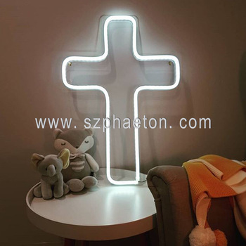 Outdoor programmable led electronic signs, flashing led cross sign/neon butterfly wing/key light