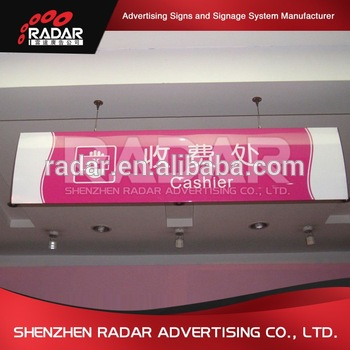 Business used sign used outdoor lighted sign boxes