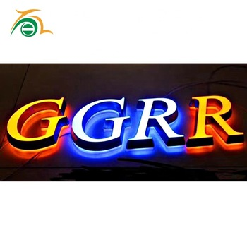Customized Channel Letter Acrylic LED Lighted Electronic Signs