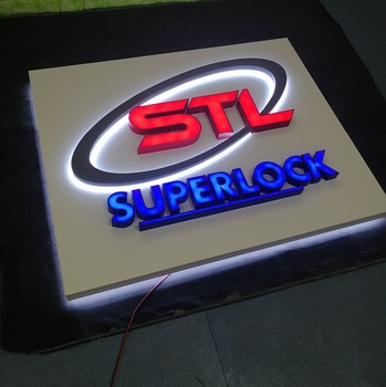 outdoor indoor Led advertising light up sign board