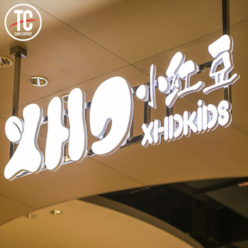 Outdoor waterproof store signs enseigne lumineuse of good quality