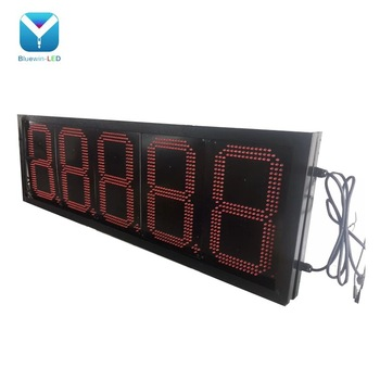 24inch 8.889/10 UNLEAED led gas charge sign use gas station