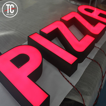 Custom Business Signs LED Signage Letters LED 3D Signs Logo Outdoor
