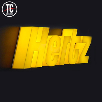 Custom Business Signs LED Signage Business Letters LED 3D Signs Logo Outdoor