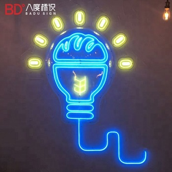 China Manufacturer outdoor neon light letters led neon light up sign