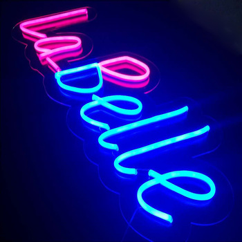 China electronic words in led lights outdoor waterproof custom acrylic led led neon flex sign