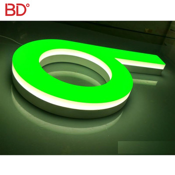 Customizing indoor and outdoor Acrylic LED full light Letters Sign