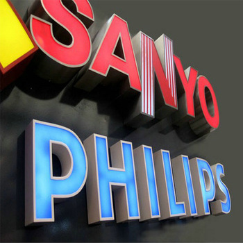Custom logo signs shop signs Led Acrylic Light Letters Outdoor 3D Acrylic Front Lit LED Sign letter from HOHI