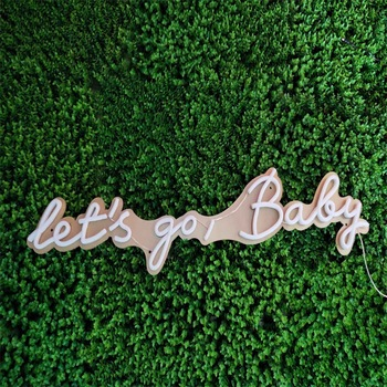 custom neon sign letter outdoor light up letter