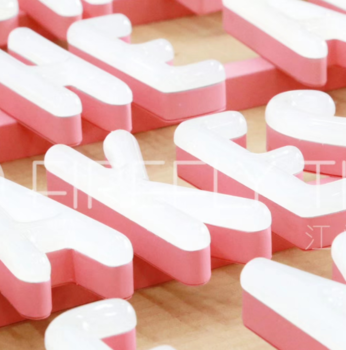Promotional bright luminous characters led neon sign channel letter
