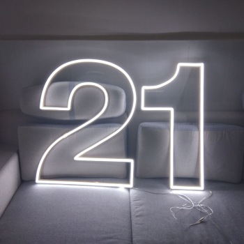 programmable moving custom neon sign with mimic movement