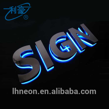 Custom outdoor 3d acrylic led backlit signs sale