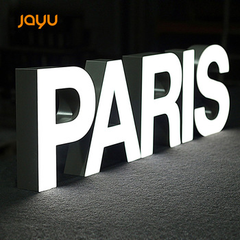 Good price CE approval outdoor advertising building sign aluminum led channel letter