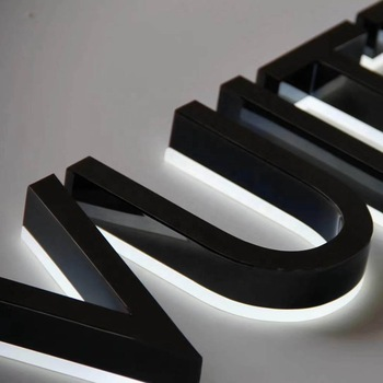high end eco-friendly acrylic LED front outdoor light up letters