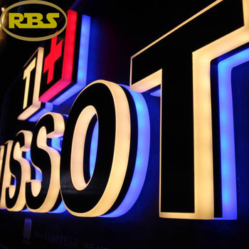 Acrylic alphabet letter sign with led light/led channel letter/acrylic alphabet letters for advertising