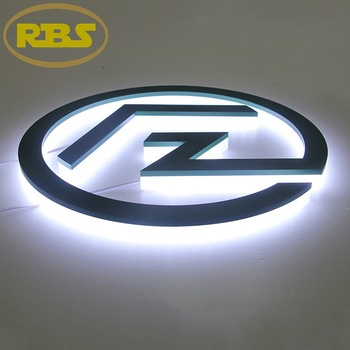 Custom Designed LED Outdoor Letter Sign Acrylic Advertising Sign For Store