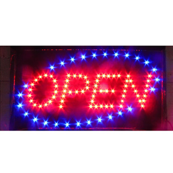 Manufacturer led open sign for your good business