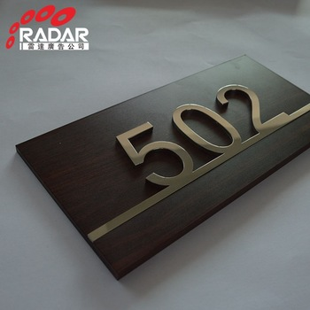 Highly customized interior pointing led signs