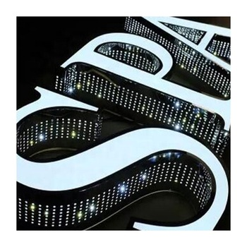 waterproof shop logos led signs outdoor advertising channel letter