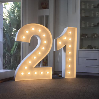 high quality 3D lighting wedding event led signs