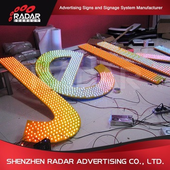 Promotional Custom truck led signs for Advertising Light Boxes