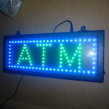 Pizza /ATM/Sandwiches Led Sign