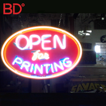 Painted 36 months warranty open led sign