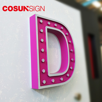 ODM led sign maker pizza signs illuminated Made in Shenzhen