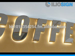 LED signs for coffeeshop