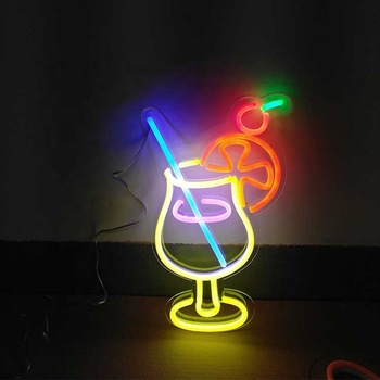 Cocktail neon sign,party/bar led neon light