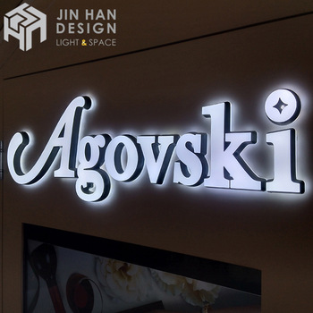 Hot selling led letters custom signs acrylic translucent color flexible neon lights