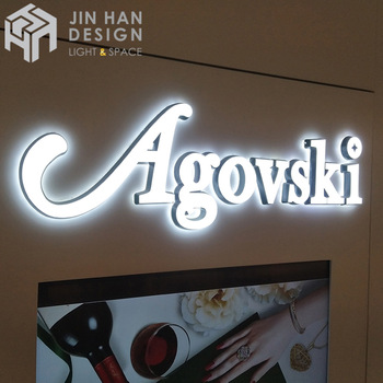 Customized store with neon light sign waterproof letters LED flexible neon light