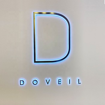 Custom outdoor business Advertising Acrylic 3d Letters Sign for store