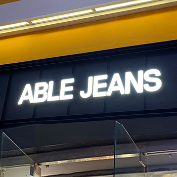 Golden Supplier acrylic signage 3d signage letters signs acrylic led shop sign