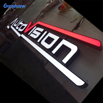 led edge lit front-lit channel letter signs,cheap commercial channel letter sign