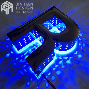 Customized outdoor metal neon light waterproof stainless steel flexible led light