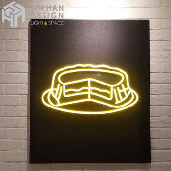 Customized luminous energy-saving bakery neon sign for store signs and logos