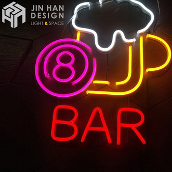 Personalized neon design customization led light neon beer signs