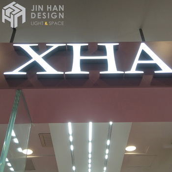 Custom low price 3d advertising metal led sign logo channel letter neon sign
