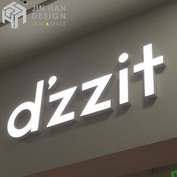 Creative custom low-consumption neon light store front signs 3d letters