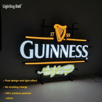 Wall Mounted Neon Light Custom Neon Wire Sign Led Round Standing