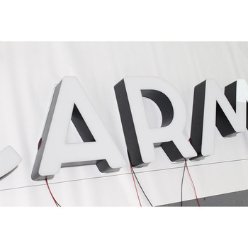 Competitive price made channel letter mini logo, high brightness logo led